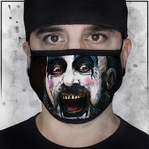 Captain Spaulding Face Mask