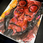 Hellboy - Original Marker Sketch