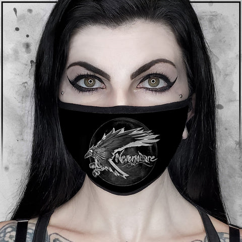 Nevermore Raven Face Mask