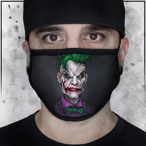 Nicole Chilelli - Hipster Joker Fabric Face Cradle