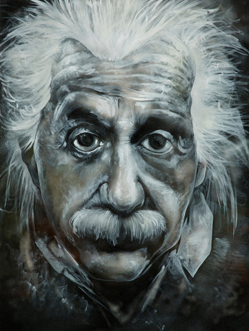 Albert Einstein - Original Painting