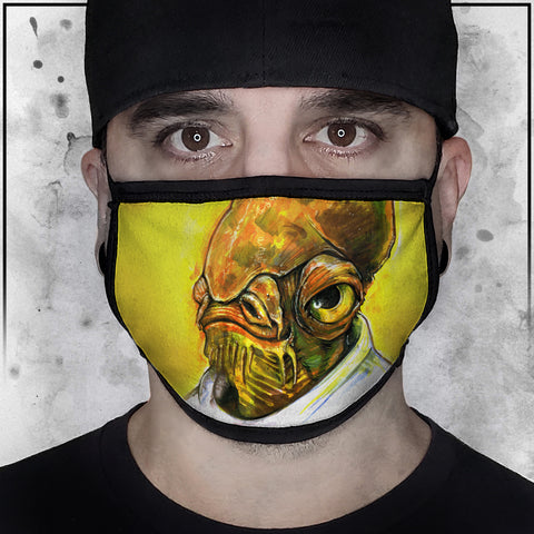 Star Wars - Admiral Ackbar Face Mask