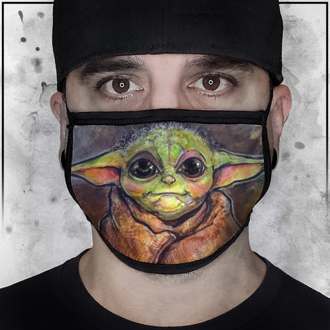 Star Wars -  Baby Yoda Face Mask