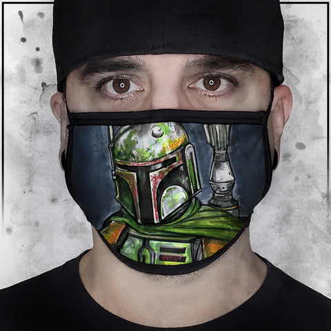 Star Wars -  Boba Fett Face Mask