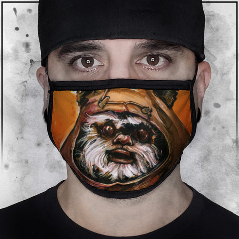 Ewok Face Mask | Star Wars