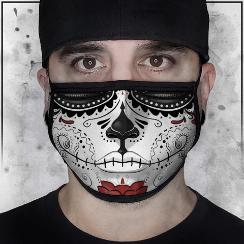 Terry Huddleston - Bone Queen Face mask