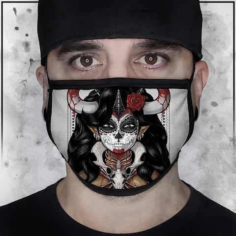 Terry Huddleston - Bone Queen II Face mask