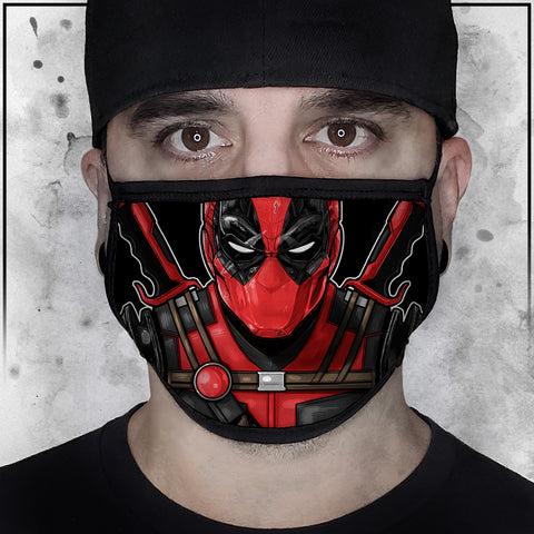 Terry Huddleston - Deadpool II Face mask