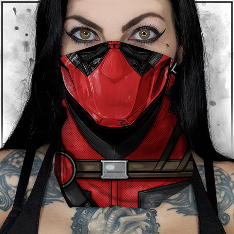 Terry Huddleston - Deadpool Neck Gaiter