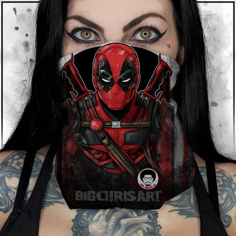Terry Huddleston - Deadpool II Neck Gaiter