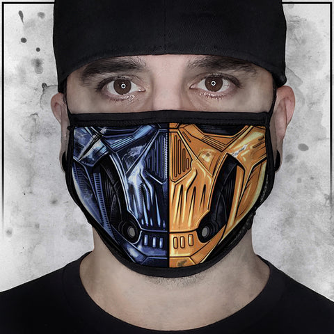 Terry Huddleston - Death Stroke Face Mask