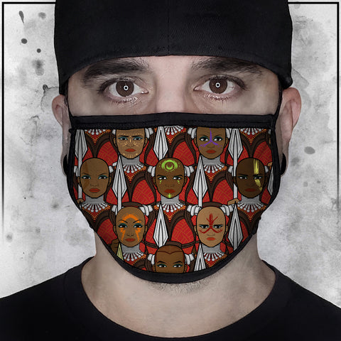 Terry Huddleston - Dora Milage Face Mask