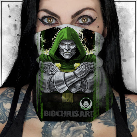 Terry Huddleston - Dr. Doom II Neck Gaiter