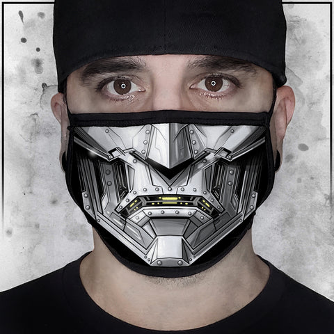 Terry Huddleston - Dr. Doom Face mask