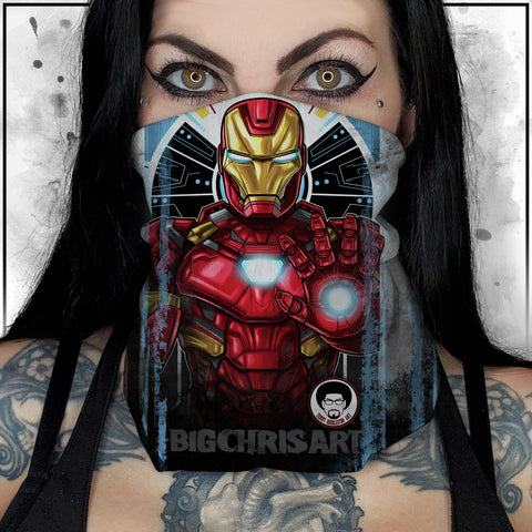 Terry Huddleston - Iron Man II Neck Gaiter