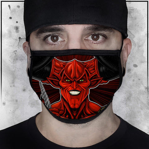 Terry Huddleston - Lord of Darkness II Face mask