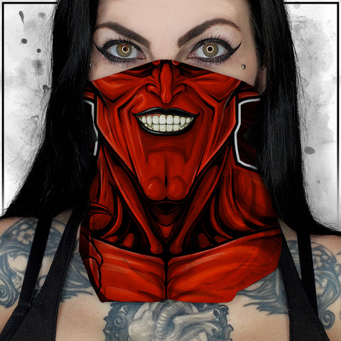 Terry Huddleston - Lord of Darkness Neck Gaiter