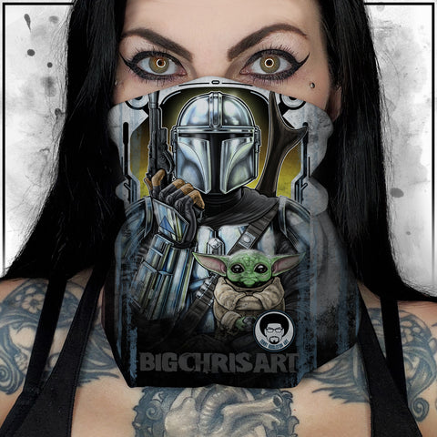 Terry Huddleston - Mandalorian II Neck Gaiter