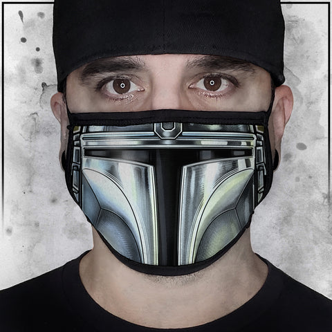 Terry Huddleston - Mandalorian Face Mask