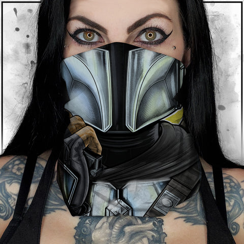 Terry Huddleston - Mandalorian Neck Gaiter