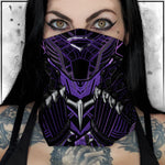 Terry Huddleston - Purple Panther Neck Gaiter