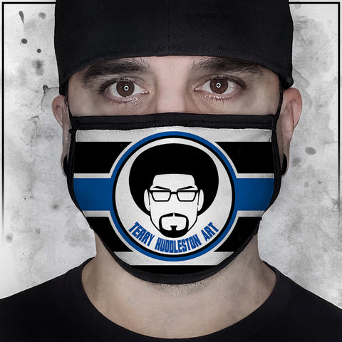 Terry Huddleston logo Face Mask