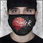 Twisted Insane - Brain Sick Face Mask