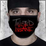 Twisted Insane - Logo Face Mask