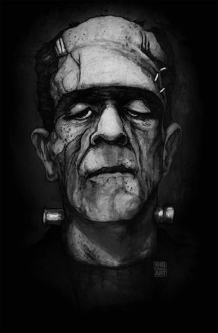 Frankenstein's Monster Canvas