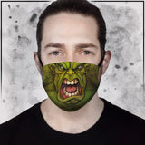 Incredible Hulk Face Mask