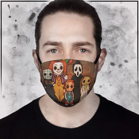 Killer Line-Up II Face Mask