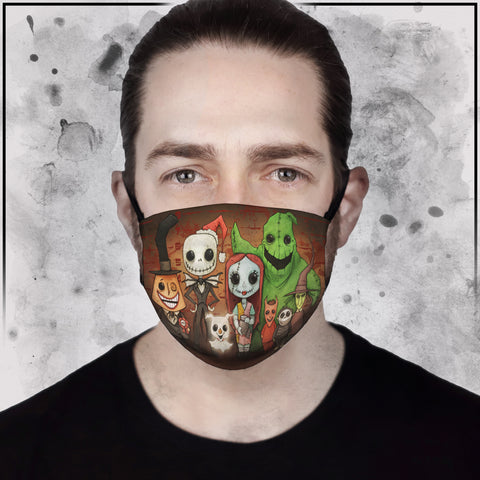 NBC - Cast Line-Up Face Mask