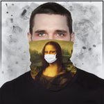 Mona Lisa Neck Gaiter