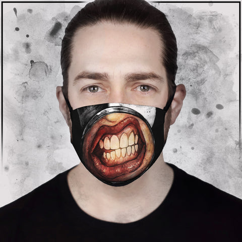 Marilyn Manson Face Mask | Marilyn Manson Merch