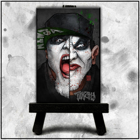 Twiztid - Stitched Twiztid Canvas