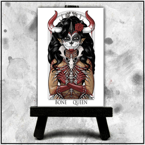 Terry Huddleston - Bone Queen Canvas