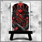 Terry Huddleston - Deadpool Canvas
