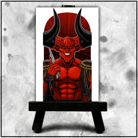 Terry Huddleston - Lord of Darkness Canvas