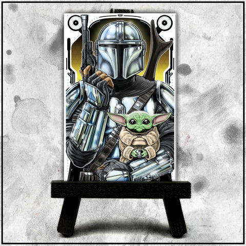 Terry Huddleston - Mandalorian Canvas