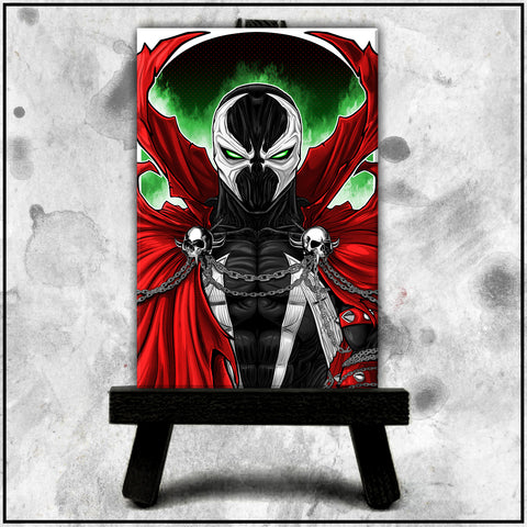 Terry Huddleston - Spawn Canvas