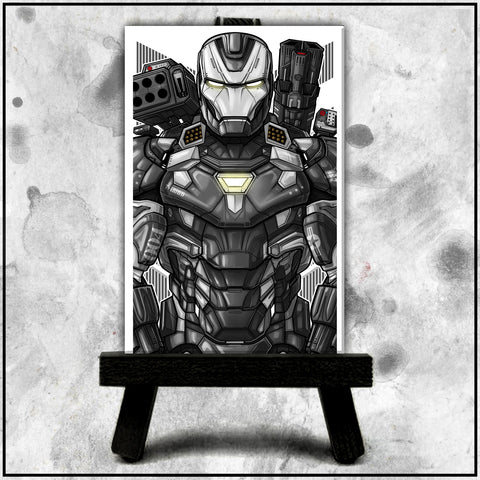 Terry Huddleston - War Machine Canvas