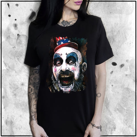 Ladies | Captain Spaulding | Oversized Tee