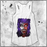 Ladies | Cult Of Fools- Cherry Snott | Triblend Racerback Tank