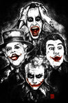 The Joker - Bunch of Jokers - 11x17 Print