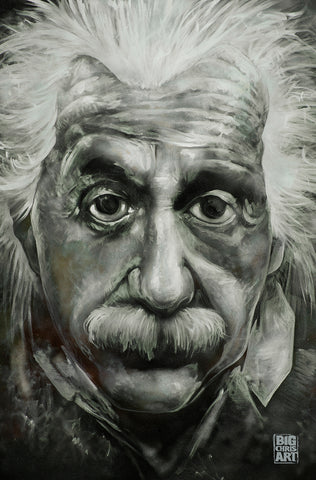 Albert Einstein Canvas