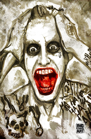 The Joker - Jared Leto's - 11x17 Print
