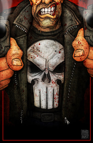 The Punisher - 11x17 Print