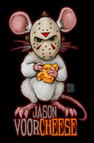 Cuddly Killers | Jason Voorcheese | 11x17 Print