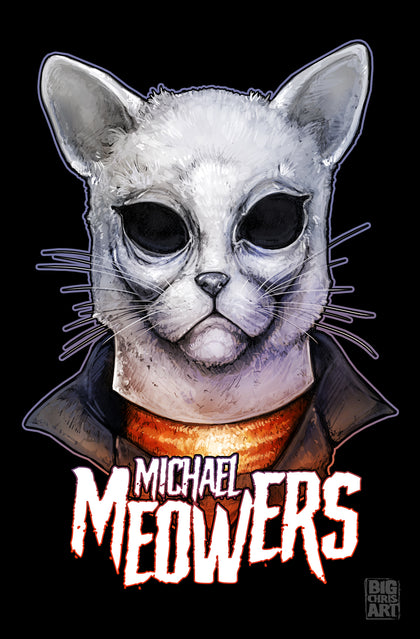 Cuddly Killers | Michael Meowers | 11x17 Print