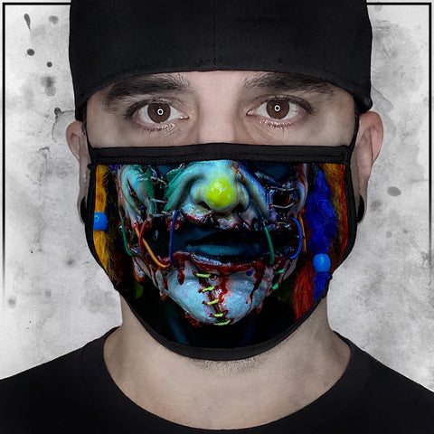 FS Kris FX - Ripped and Stitched Multi-Colored Face Mask